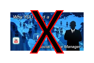 You don't need a social media manager