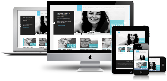 Mobile responsive website design and development